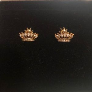 Juicy Couture Crown diamond earring
